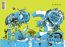 Medium iwah comic book covers 3 original