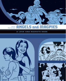 Medium angels and magpies cover