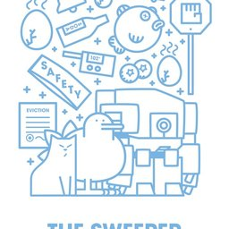 Frontgrid sweeper 2 cover