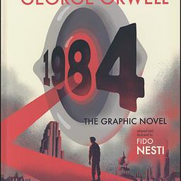 Frontgrid georh george orwell 1984 graphic novel book